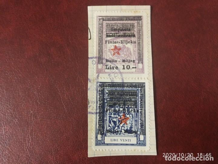 CROACIA FIUME 1944 SEGUNDA GUERRA MUNDIAL WWII PARTISANOS. (Sellos - Extranjero - Europa - Yugoslavia)