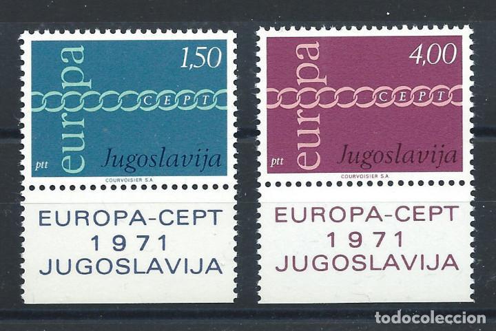 "YOUGOSLAVIE N°1301/02** (MNH) 1971 - EUROPA ""DESSINS COMMUNS"" (Sellos - Extranjero - Europa - Yugoslavia)"