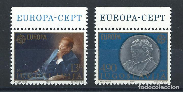 "Sellos: Yougoslavie N°1711/12** (MNH) 1980 - Europa ""Personnages célèbres"" - Foto 1 - 227807430"
