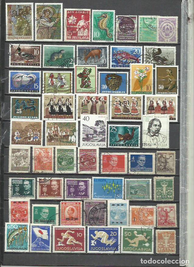 R395-LOTE SELLOS JUGOSLAVIA SIN TASAR,BONITOS,INTERESANTES,ANTIGUOS (Sellos - Extranjero - Europa - Yugoslavia)