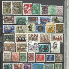 Sellos: R395-LOTE SELLOS JUGOSLAVIA SIN TASAR,BONITOS,INTERESANTES,ANTIGUOS. Lote 234843325
