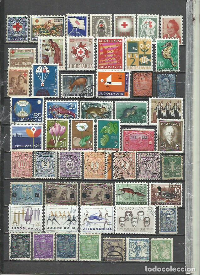 R397-LOTE SELLOS JUGOSLAVIA SIN TASAR,BONITOS,INTERESANTES,ANTIGUOS (Sellos - Extranjero - Europa - Yugoslavia)