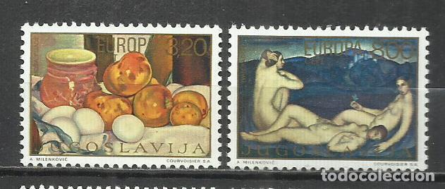 9307A-YUGOSLAVIA JUGOSLAVIA SERIE COMPLETA NUEVOS MNH**1969 1242/7 ARTE PINTURA ENVIOS COMBINADOS SI (Sellos - Extranjero - Europa - Yugoslavia)