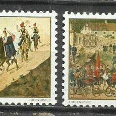 Sellos: 9307D-YUGOSLAVIA JUGOSLAVIA SERIE COMPLETA NUEVOS MNH**1981 1769/70 ARTE PINTURA. Lote 234955630