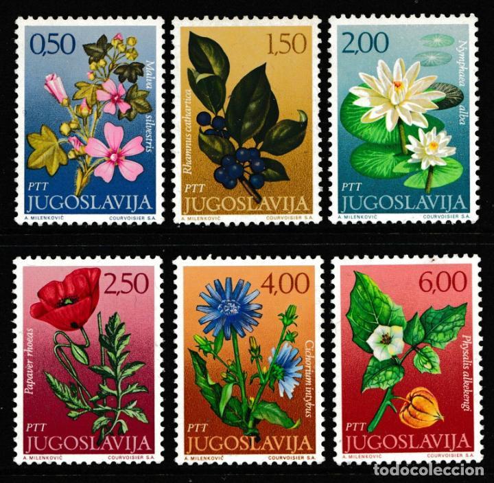 YUGOSLAVIA 1971 IVERT 1305/10 *** FLORA - FLORES DIVERSAS (Sellos - Extranjero - Europa - Yugoslavia)