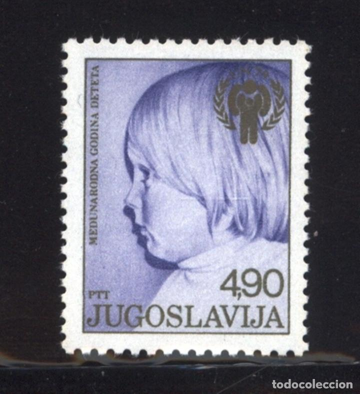 YUGOSLAVIA 1979 IVERT 1658 *** AÑO INTERNACIONAL DEL NIÑO (Sellos - Extranjero - Europa - Yugoslavia)