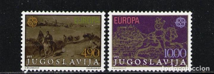 YUGOSLAVIA 1979 IVERT 1663/4 *** EUROPA - HISTORIA POSTAL (Sellos - Extranjero - Europa - Yugoslavia)