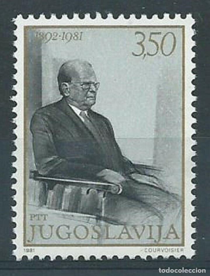 YUGOSLAVIA 1981 IVERT 1772 *** 1º ANIVERSARIO DE LA MUERTE DE JOSIP BROZ TITO - PERSONAJES (Sellos - Extranjero - Europa - Yugoslavia)