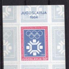 Sellos: YUGOESLAVIA, 1983, SOUVENIR-SHEET , MICHEL , BL22. Lote 236301910