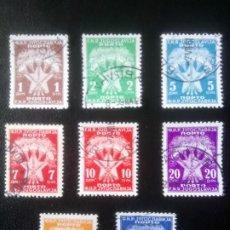Sellos: YUGOSLAVIA 1946/51, TASAS. Lote 244678860