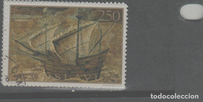 LOTE U-SELLO YUGOSLAVIA TEMA BARCOS GRAN TAMAÑO (Sellos - Extranjero - Europa - Yugoslavia)