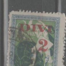 Sellos: LOTE U-SELLO LETTONIA AÑO 1920-21. Lote 245075830