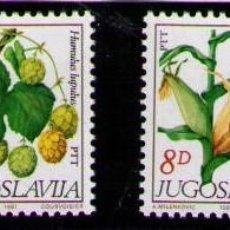 Sellos: YUGOSLAVIA 1981 - FLORES - YVERT Nº 1773-1776**. Lote 262539805