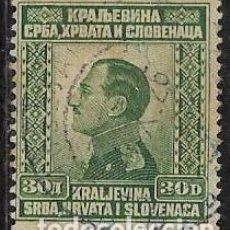 Sellos: YUGOSLAVIA YVERT 167. Lote 262927370