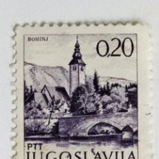 Sellos: SELLO DE YUGOESLAVIA 0,20 - 1972 - BOHIJN - USADO SIN SEÑAL DE FIJASELLOS. Lote 268604249