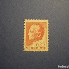 Sellos: YUGOSLAVIA - JOSIP BROZ TITO (EX-PRESIDENTE DE YUGOSLAVIA) - 0,30.. Lote 270638593
