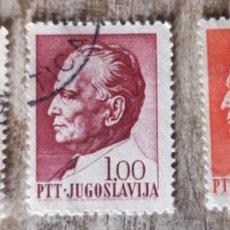 Sellos: 1967 -YUGOSLAVIA - MARISCAL TITO 5 SELLOS USADOS. Lote 277613808