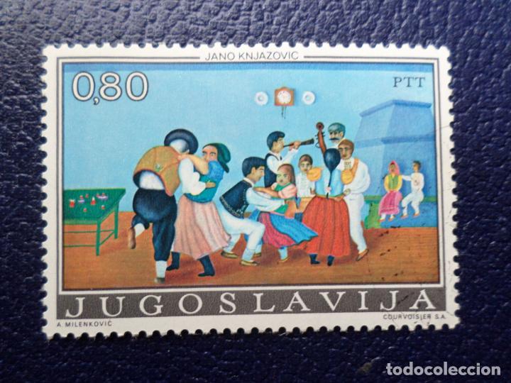 -YUGOSLAVIA, 1974, ARTE NAIF YUGOSLAVO, YVERT 1454 (Sellos - Extranjero - Europa - Yugoslavia)