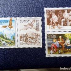 Sellos: -YUGOSLAVIA,1995, EUROPA, PAZ Y LIBERTAD, YVERT 2572/73. Lote 289667058