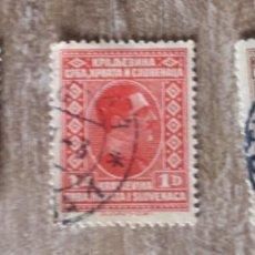 Sellos: YUGOSLAVIA - CORREO 1928 -- RARO - 3 SELLOS USADOS. Lote 291836913