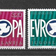 Sellos: YUGOSLAVIA 1975 SERIE COMPLETA ** MNH - 2/5. Lote 293820083