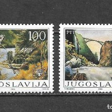 Sellos: YUGOSLAVIA 1986 SERIE COMPLETA ** MNH - 2/5. Lote 293821293