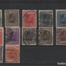 Sellos: SERIE COMPLETA USADA DE YUGOESLAVIA DE 1926. Lote 294009873