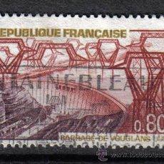 Sellos: ENERGIA . FRANCIA 1969 0.8 F YVERT 1583. CENTRAL HIDROELECTRICA. Lote 8153562
