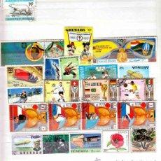 Sellos: COLECCION DE 19 SELLOS DE JUEGOS OLIMPICOS. Lote 11243903