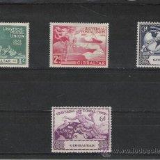 Sellos: TEMA UPU. UNION POSTAL UNIVERSAL SERIE DE 1949 DE GIBRALTAR. Lote 14372684