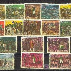 Sellos: 16 SELLOS DE GUINEA ECUATORIAL DEDICADOS A NAPOLEÓN. CREO SON SERIE COMPLETA.. Lote 19548881