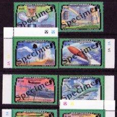Sellos: MONTSERRAT AÑO 1995 MI 929/36*** 50 ANVº FÍN DE LA II GUERRA MUNDIAL - AVIONES - CIÉNCIA Y TÉCNICA. Lote 26161818