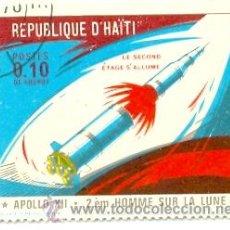 Sellos: HAITI-677. SELLO USADO HAITI. YVERT Nº 677. APOLO XII. Lote 20210322