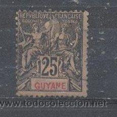 Sellos: GUAYANA FRANCESA -1892- YVERT TELLIER 37. Lote 26877208