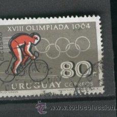 Sellos: SELLOS.URUGUAY. JUEGOS OLIMPICOS. OLIMPIADAS. 1964.. Lote 21917807