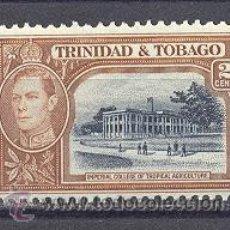 Sellos: TRINIDAD Y TOBAGO(COLONIA BRITANICA)- AÑO 1938- NUEVO. Lote 21925524