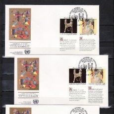 Sellos: NACIONES UNIDAS VIENA 131/6 PRIMER DIA, LA DECLARACION UNIVERSAL DE LOS DERECHOS HUMANOS. Lote 22477377