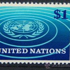 Sellos: ONU NACIONES UNIDAS NEW YORK YVERT: 150 AÑO 1966 .........NU-19. Lote 26936392