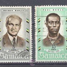 Sellos: JAMAICA,1970, HEROES NACIONALES. Lote 22813394
