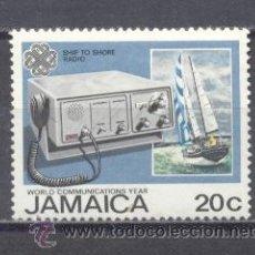 Sellos: JAMAICA, 1983, AÑO MUNDIAL DE LAS COMUNICACIONES. Lote 22814890