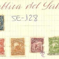 Sellos: (SE-128)LOTE DE SELLOS DE REPUBLICA DEL SALVADOR. Lote 22845234