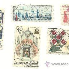 Sellos: LOTE DE 23 SELLOS DE CHECOESLOVAQUIA, POLONIA, URSS Y SHARJAH.. Lote 23166307