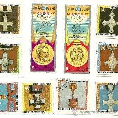 Sellos: LOTE DE 21 SELLOS DE GUINEA ECUATORIAL Y CUBA.. Lote 23166383
