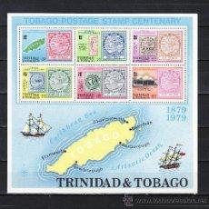 Sellos: TRINIDAD & TOBAGO HB 28 SIN CHARNELA, CENTENARIO DEL SELLO DE TOBAGO, . Lote 23878056