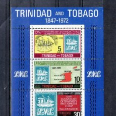 Sellos: TRINIDAD & TOBAGO HB 3 SIN CHARNELA, 125º ANIVERSARIO DEL PRIMER SELLO ADHESIVO . Lote 23878118