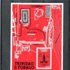 Sellos: TRINIDAD & TOBAGO 421/3, HB 31 SIN CHARNELA, DEPORTE, JUEGOS OLIMPICOS DE MOSCU, MEDALLAS, . Lote 23904108
