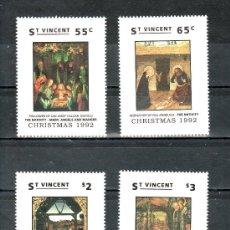 Sellos: SAN VICENTE 1578/81 SIN CHARNELA, NAVIDAD, PINTURA, . Lote 24319579