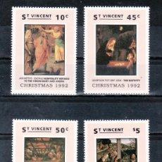 Sellos: SAN VICENTE 1561/4 SIN CHARNELA, NAVIDAD, PINTURA, . Lote 24319589