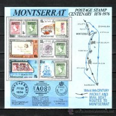 Sellos: MONTSERRAT HB 9 SIN CHARNELA, CENTENARIO DEL SELLO DE MONTSERRAT . Lote 24717922