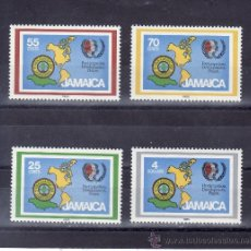 Sellos: JAMAICA 624/7 SIN CHARNELA, AÑO INTERNACIONAL JUVENTUD Y 5ª MARCHA SCOUTS PANAMERICANOS . Lote 24964374